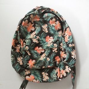 VS Pink tropical backpack